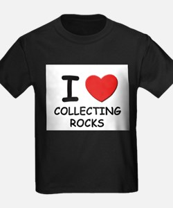 Cute Collecting rocks T