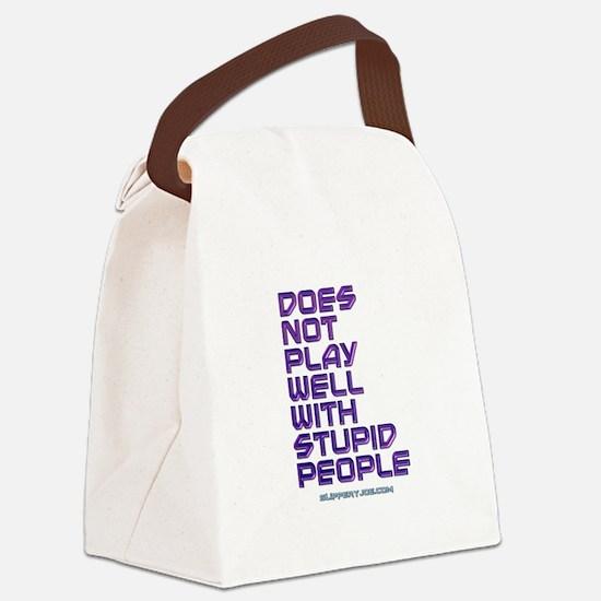 Unique Gay bear Canvas Lunch Bag