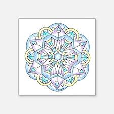 "Cute Pastel Square Sticker 3"" x 3"""