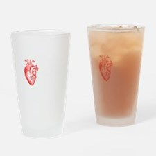 I love realism <3 white Drinking Glass