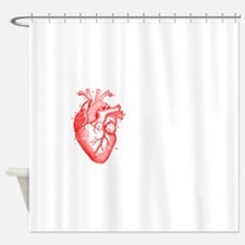 I love realism <3 white Shower Curtain