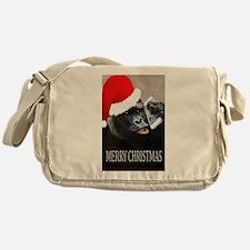 Merry Christmas Gorilla Messenger Bag
