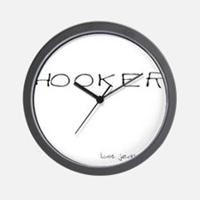 Hooker Wall Clock