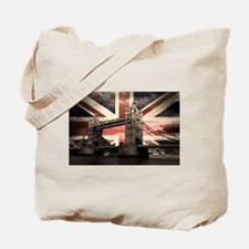 Union Jack London Tote Bag
