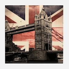 Union Jack London Tile Coaster
