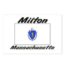 Milton Massachusetts Postcards (Package of 8)