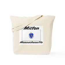 Milton Massachusetts Tote Bag