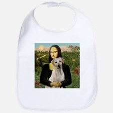 Mona Lisa & Yellow Lab #2 Bib
