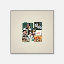"Andy Griffith Collage Square Sticker 3"" x 3"""