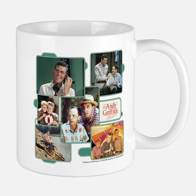 Andy Griffith Collage Mug