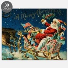 Unique Christmas victorian Puzzle