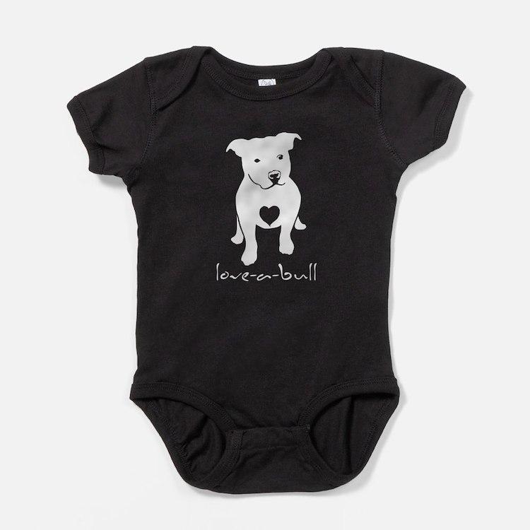 Love-a-bull Baby Bodysuit
