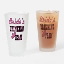 Unique Team bride Drinking Glass