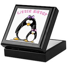 Little Sister penguin Keepsake Box