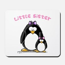 Little Sister penguin Mousepad