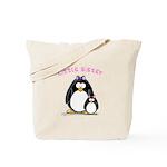 Little Sister penguin Tote Bag