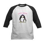 Little Sister penguin Kids Baseball Jersey