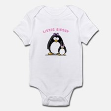 Little Sister penguin Infant Bodysuit
