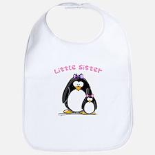 Little Sister penguin Bib