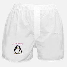 Little Sister penguin Boxer Shorts
