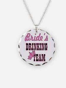 bachelorette bride's drinkin Necklace