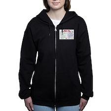 Unique Shihtzu Women's Zip Hoodie