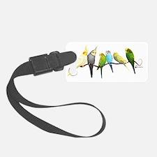 Cute Birding Luggage Tag