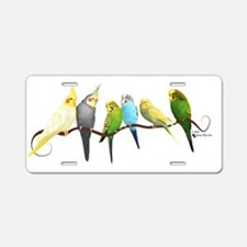 Cute Birds Aluminum License Plate