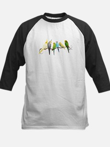 Parakeets & Cockatiels Baseball Jersey