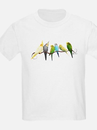 Parakeets & Cockatiels T-Shirt