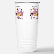 Funny Funny flamingo Travel Mug