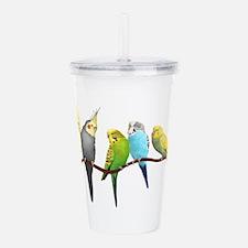 Parakeets & Cockatiels Acrylic Double-wall Tumbler