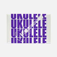 Purple Ukulele Magnets