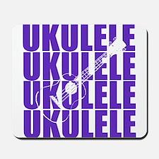 Purple Ukulele Mousepad