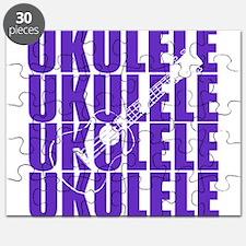 Purple Ukulele Puzzle
