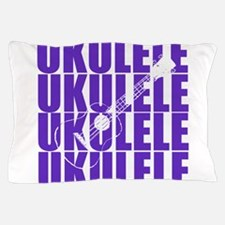 Purple Ukulele Pillow Case