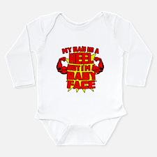 Pro wrestling Long Sleeve Infant Bodysuit