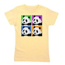 Unique Cute panda Girl's Tee