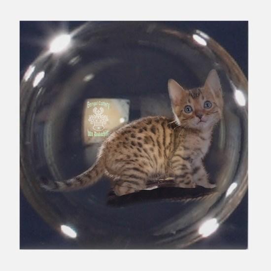 Kitty Tile Coaster
