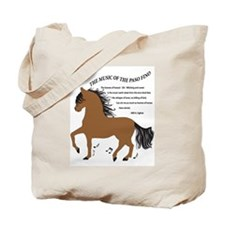 Hoofbeats Bay Tote Bag