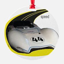 Cute Speed racer Ornament