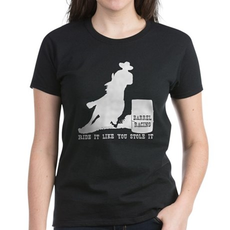 Ride it like you stole it! Women's Dark T-Shirt
