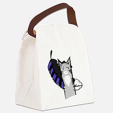Jayfeather Cartoon Canvas Lunch Bag