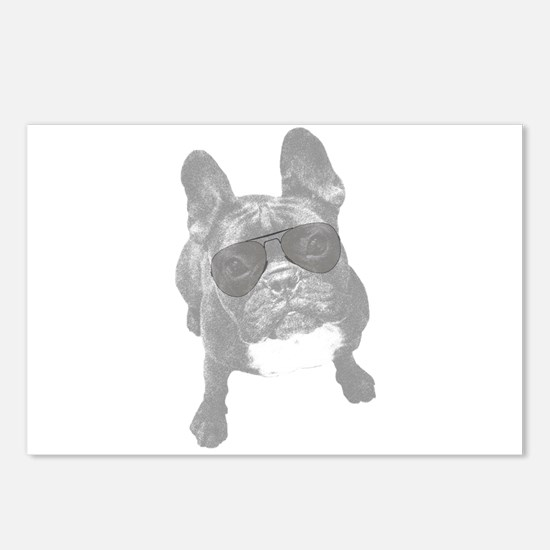 French bull dogs Postcards (Package of 8)