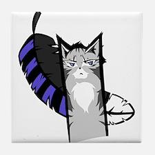 Jayfeather Cartoon Tile Coaster