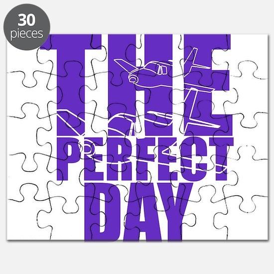 purple airplane Puzzle