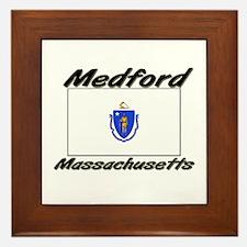Medford Massachusetts Framed Tile