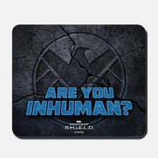 MAOS Are you Inhuman Mousepad