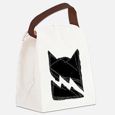 Thunderclan BLACK Canvas Lunch Bag