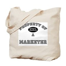 Property of a Marketer Tote Bag